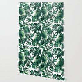 Tropical Jungle Leaves Dream #3 #tropical #decor #art #society6 Wallpaper