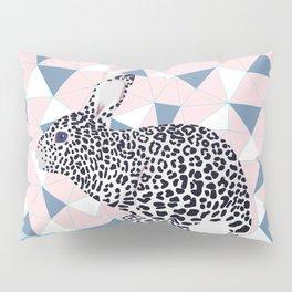 Cute Rabbit Leopard Pattern Design Pillow Sham