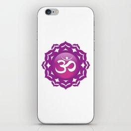 Crown Chakra Symbol iPhone Skin
