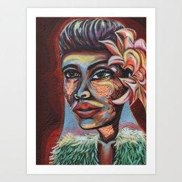 Lady Day Art Print