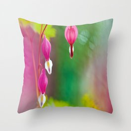 Ethereal Heart Throw Pillow