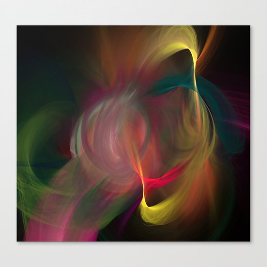 Dance of Divinity Canvas Print