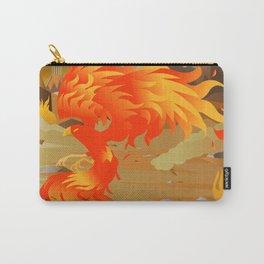 phoenix bird on fire Carry-All Pouch