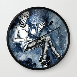 Falling Star Wall Clock