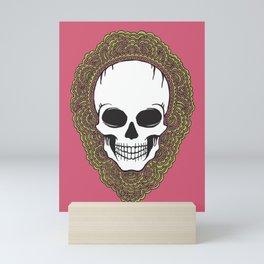 Skull Drawing Meditation Mini Art Print