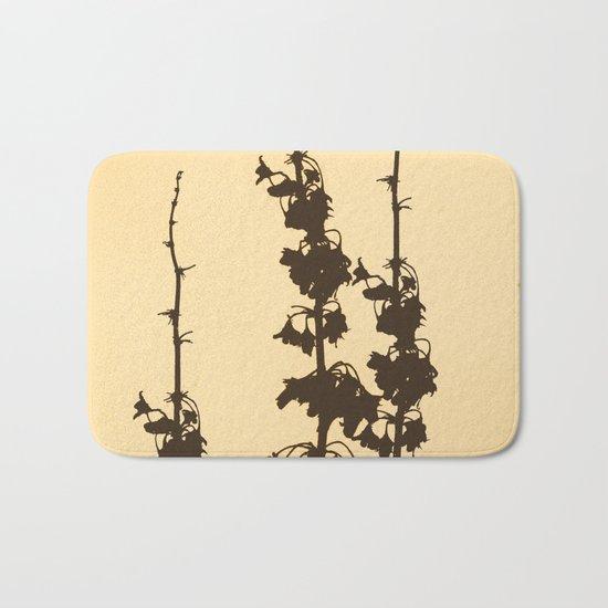 Florales · plant end 4 Bath Mat