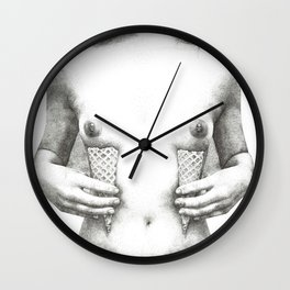 Cones Wall Clock