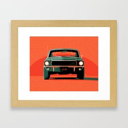 Bullitt Framed Art Print