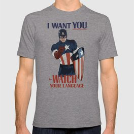 I want you to watch your language T-shirt