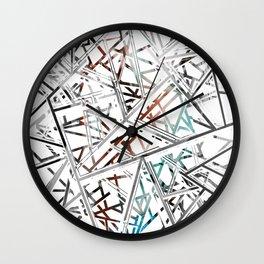 Web Prism Wall Clock