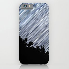 Starry Night Time Lapse iPhone Case