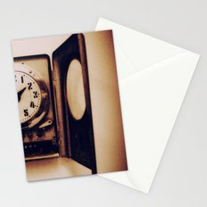 Antique Clock Stationery Cards