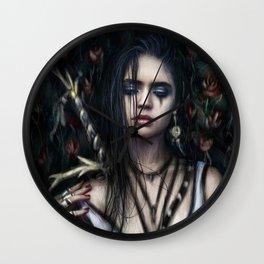 In the Rose Garden Wall Clock