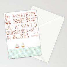 for whatever we lose. .. Stationery Cards