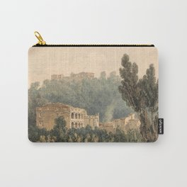 william turner In the Valley Near Vietri  1794 Carry-All Pouch