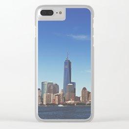 Manhattan Skyline Clear iPhone Case