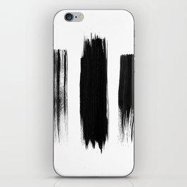 Black lines iPhone Skin