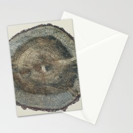 Stump Rings Stationery Cards