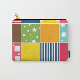 Kids Room Patch Pattern Carry-All Pouch