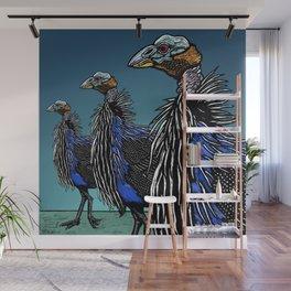 Exotoc birds - Vulturine Guineafowl Wall Mural