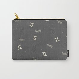Gemini Pattern Carry-All Pouch