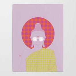 Buddha : Imagine Silence! (PopArtVersion) Poster