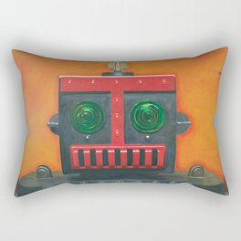 Robert the Robot Rectangular Pillow