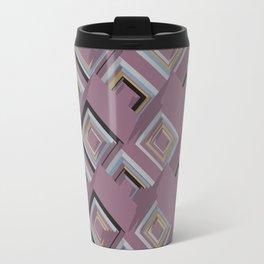 3D Cubes Travel Mug