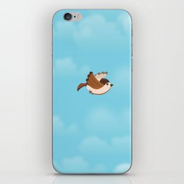 Little Flying Sparrow iPhone Skin