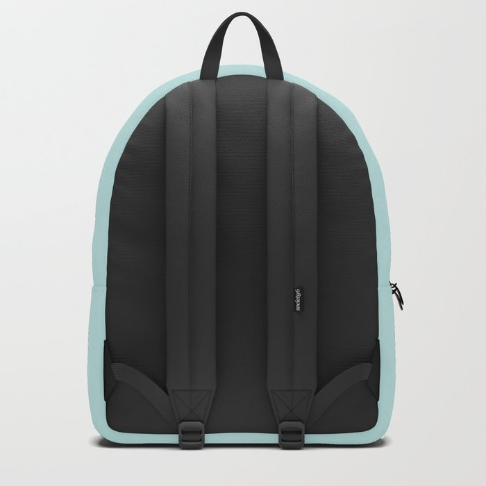 Simply Succulent Blue Backpack