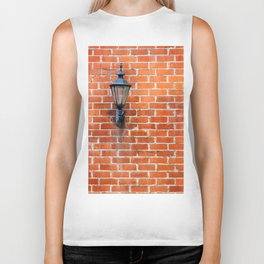 Brick Wall Light Biker Tank