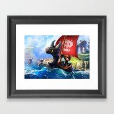 The Dragon Waker Framed Art Print