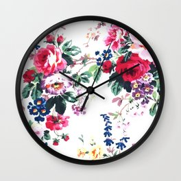 Bouquets with roses Wall Clock