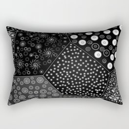 Light geometries Rectangular Pillow