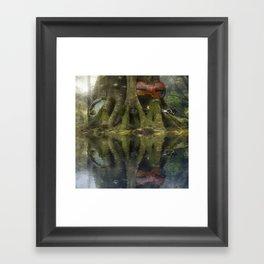 Living Roots Framed Art Print