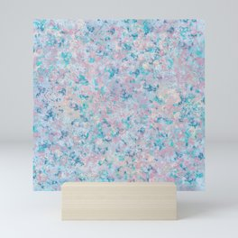 Scattered Flowers Mini Art Print