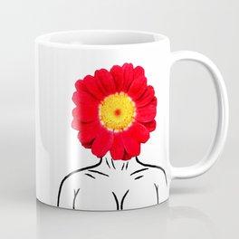 Face Flower Coffee Mug