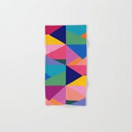 Geometric Color Block Hand & Bath Towel