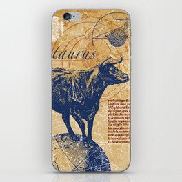 taurus | stier iPhone Skin