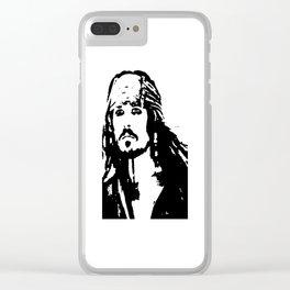 pirates caribbean sea Clear iPhone Case