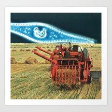 strange harvest Art Print