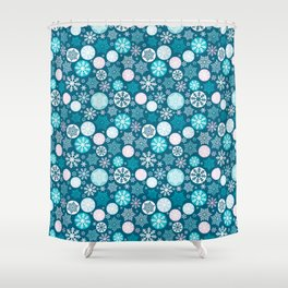Magical snowflakes IV Shower Curtain