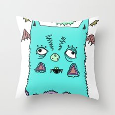 Murciélago#3 Throw Pillow