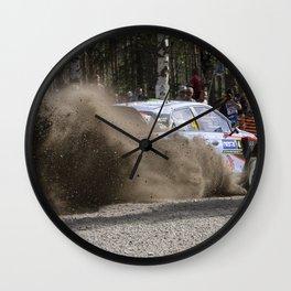 Speed dust Wall Clock