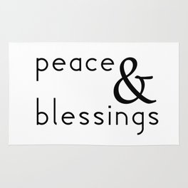 Peace & Blessings Rug