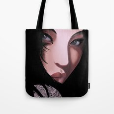 Black Geisha Tote Bag