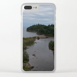 Belonging to the blue Clear iPhone Case