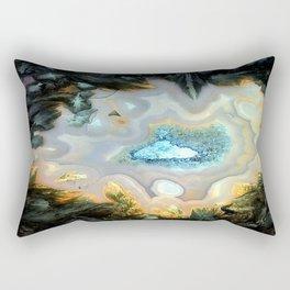 Geode Fairyland - Inverted Art Series Rectangular Pillow