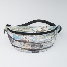Cracked Stone Steps Fanny Pack