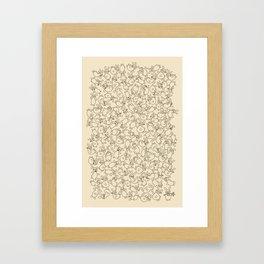 The Last Carrot Framed Art Print
